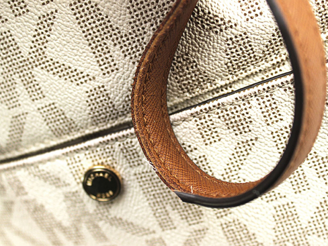 Michael Kors - custom strap edging